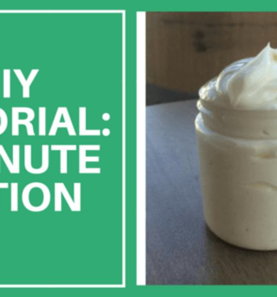 DIY – This Creamy Lotion Takes Under 5 Minutes To Make…And Is The Most Incredible Holiday Gift You've Ever Made