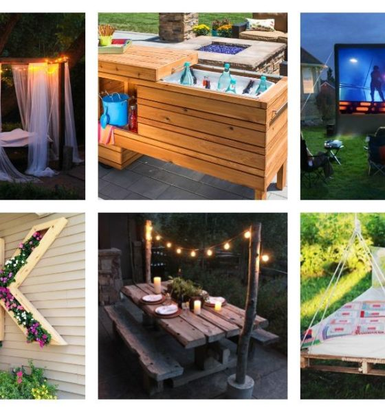 18 DIY Yard Ideas – Backyard Projects You Can Do This Weekend!