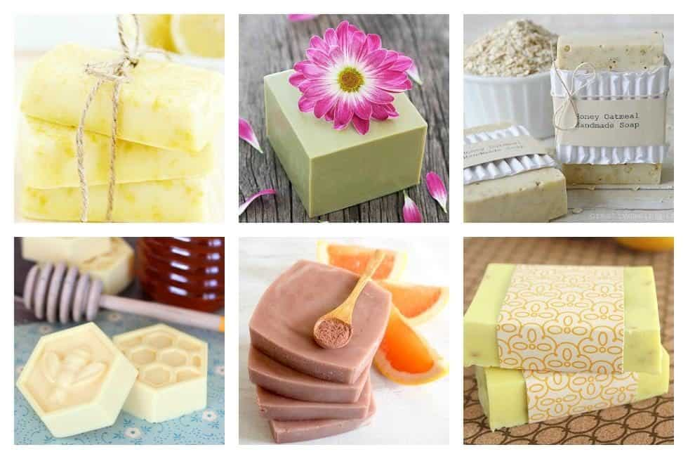 Natural Soap Collage