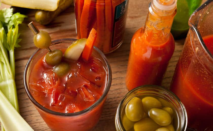 Basic-bloody-mary. A party isn't a party without some crowd pleasing cocktails. Save your sanity at your next party by having a few of these make-ahead big batch cocktails mixed and ready to serve. Click here to check out these delicious big batch cocktail recipes now.