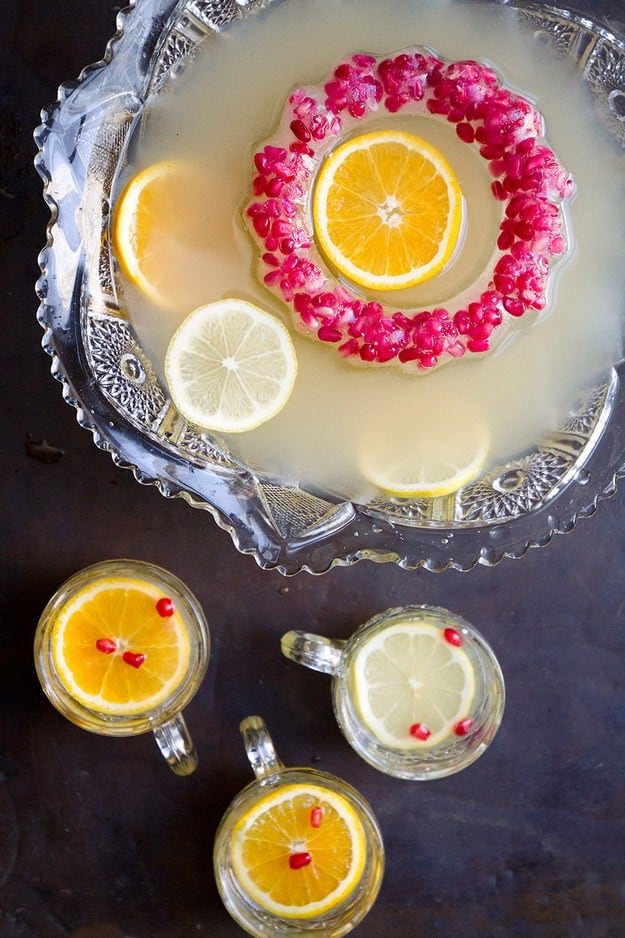 Horse-and-carriage-punch. A party isn't a party without some crowd pleasing cocktails. Save your sanity at your next party by having a few of these make-ahead big batch cocktails mixed and ready to serve. Click here to check out these delicious big batch cocktail recipes now.