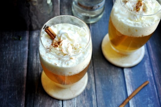 Hot-apple-pie-punch. A party isn't a party without some crowd pleasing cocktails. Save your sanity at your next party by having a few of these make-ahead big batch cocktails mixed and ready to serve. Click here to check out these delicious big batch cocktail recipes now.