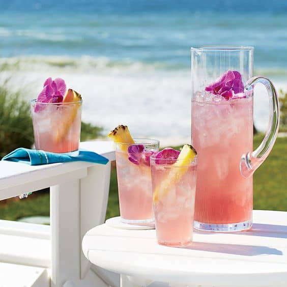 Pink-a-colada. A party isn't a party without some crowd pleasing cocktails. Save your sanity at your next party by having a few of these make-ahead big batch cocktails mixed and ready to serve. Click here to check out these delicious big batch cocktail recipes now.