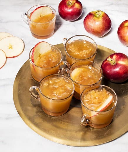 HARD CIDER SLUSH. A party isn't a party without some crowd pleasing cocktails. Save your sanity at your next party by having a few of these make-ahead big batch cocktails mixed and ready to serve. Click here to check out these delicious big batch cocktail recipes now.