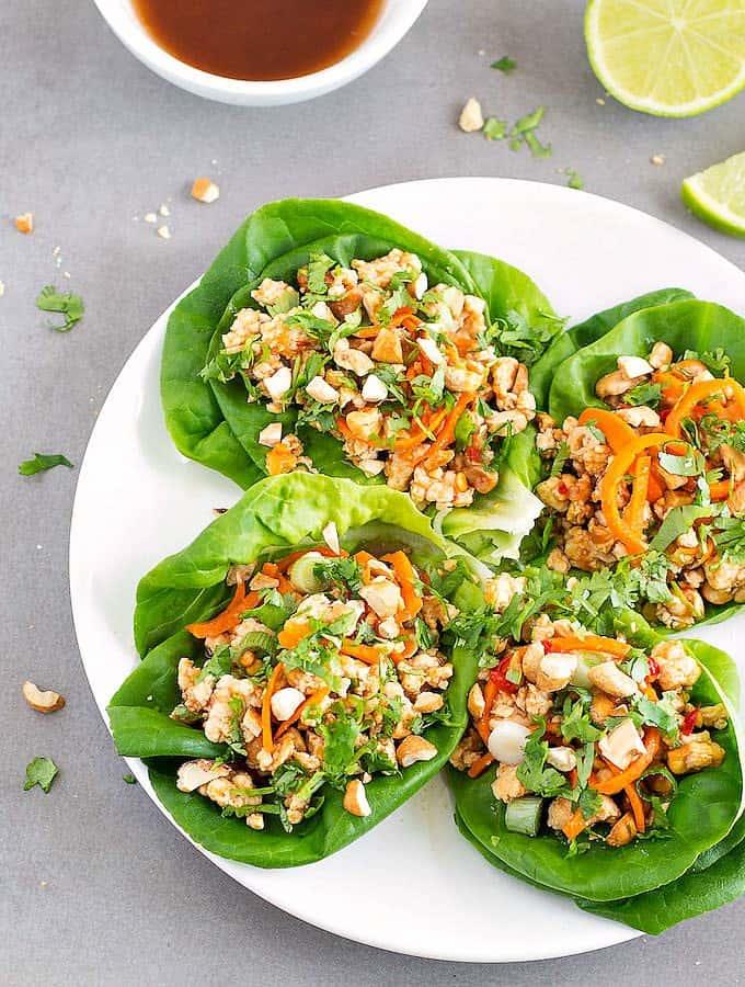 healthy-asian-chicken-lettuce-wraps