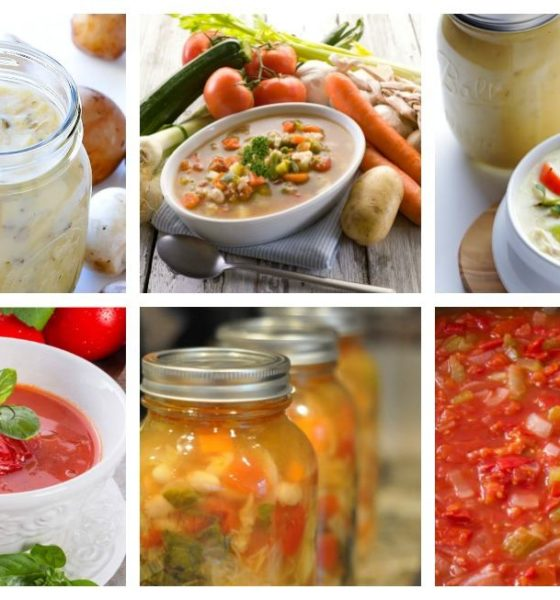 Canning Soup – 12 Recipes to Warm Your Belly This Winter