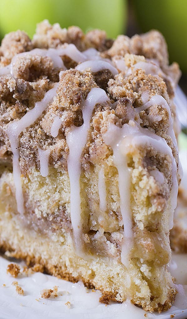 Cinnamon Apple Crumb Cake - These Fall recipes are perfect for the holidays and for any time you want to bring the delicious smells of apple, cinnamon, and pumpkin into your home. You're guaranteed to find a fall flavor you love with these 18 delicious fall dessert recipes.