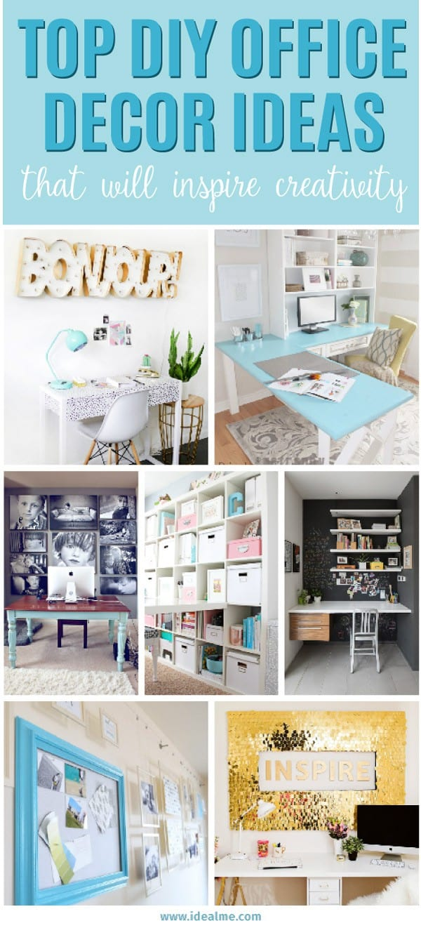 Top DIY Office Decor Ideas That Will Inspire Creativity