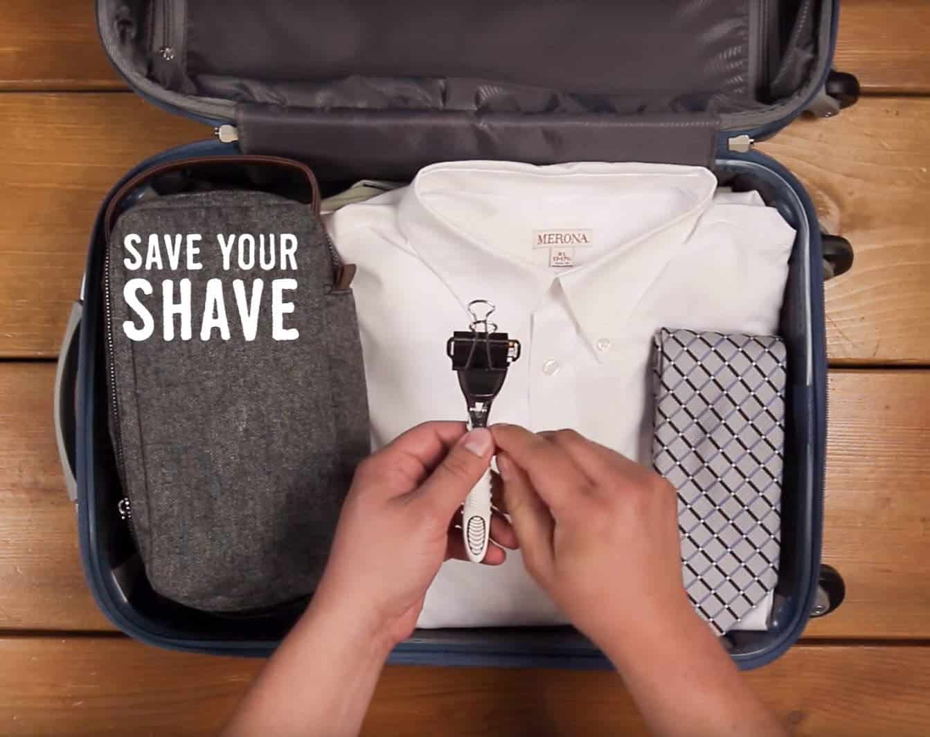 Protect your razor - These indispensable travel packing tips we've assembled will make your packing and unpacking much more efficient and help you stay super organized while on vacation. Now you're set to travel like a pro!