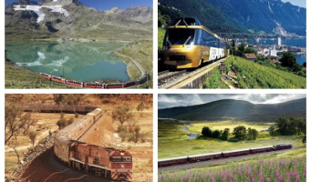 The World's Top 15 Train Trips To Put on Your Bucket List