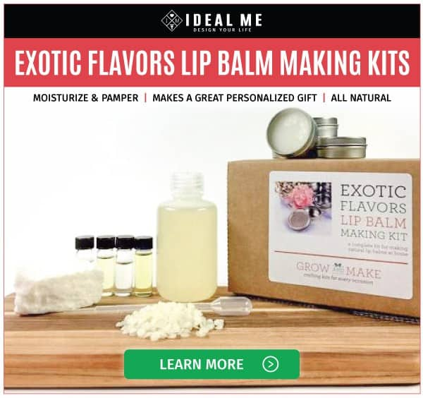 Exotic Flavors Lip Balm Making Kit