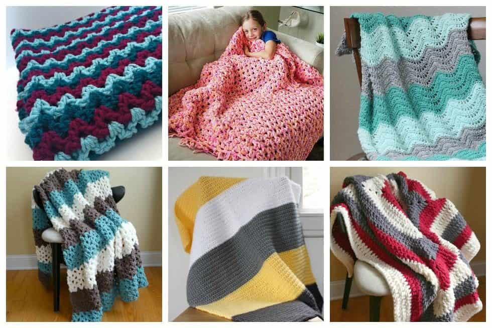 ... crochet blanket patterns that are perfect for beginner crocheters