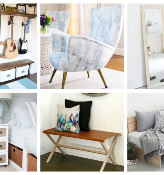 15 Stylish DIY Bedroom Furniture Ideas to Update and Refresh Your Room
