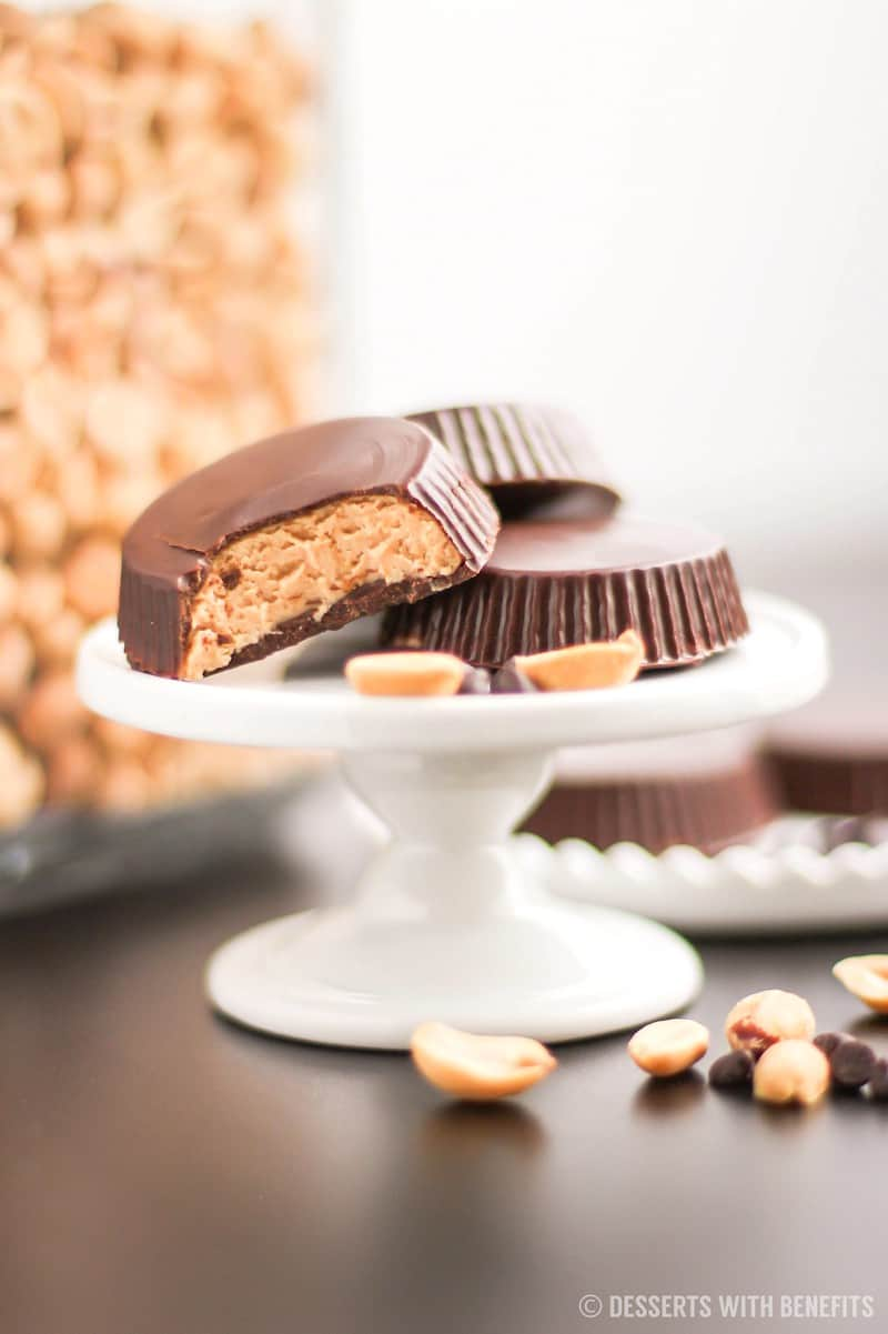 Healthy Homemade Peanut Butter Cups (Sugar Free ...