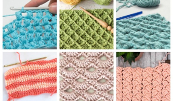18 Easy Crochet Stitches You Can Use for Any Project