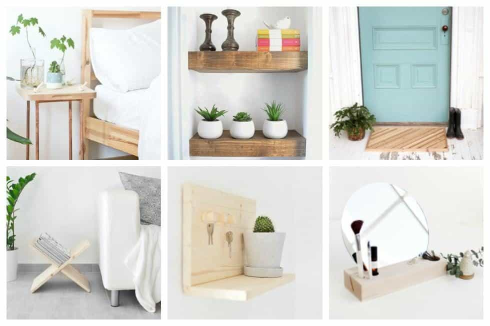 20 Easy Woodworking Projects To Make Your Home More Beautiful Most Of These Include