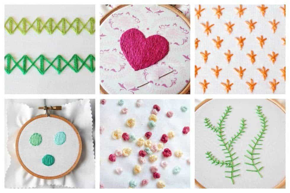 20 Easy Embroidery Stitches Every Embroiderer Should Master Ideal Me