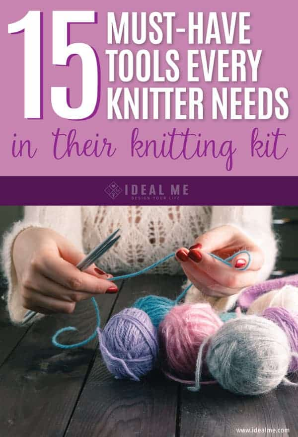 As you may have noticed, knitting is now back in vogue. We've compiled a list of all the must-have tools every knitter needs in their knitting kit.