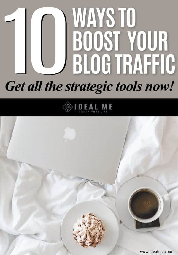 10 Ways To Boost Your Blog Traffic.It's no big secret, just a set of strategic tools other bloggers have successfully used to explode their blog traffic.