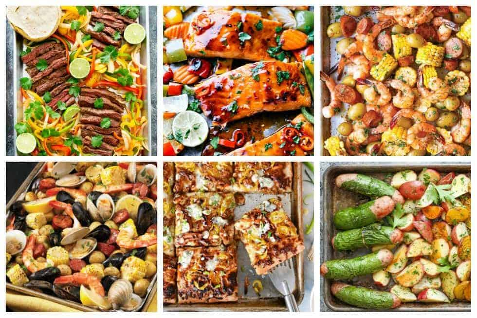 Sheet pan meals are a dinnertime game changer. Browse through some of these amazing and delicious sheet pan recipes and find your next fuss-free meal.