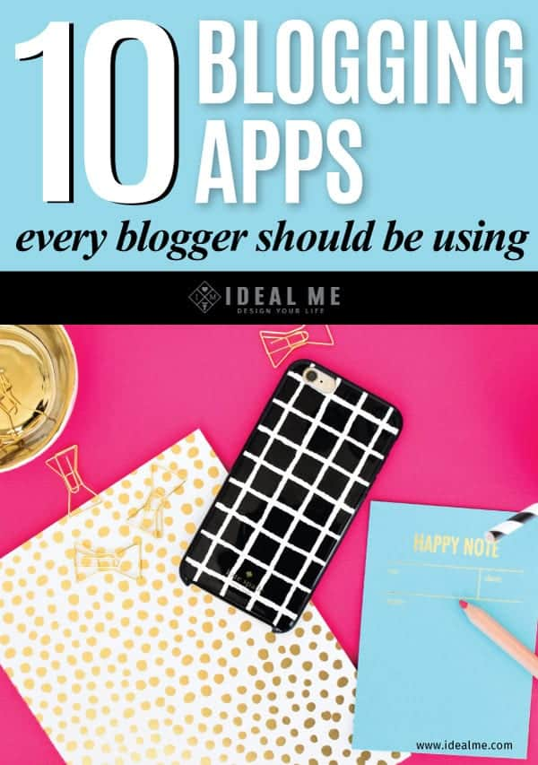 Using apps can increase traffic, shares, and streamline your online business. Check out our list of the 10 blogging apps every blogger should be using.