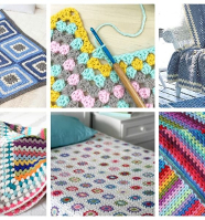 20 Easy Granny Square Blankets To Cuddle Up With