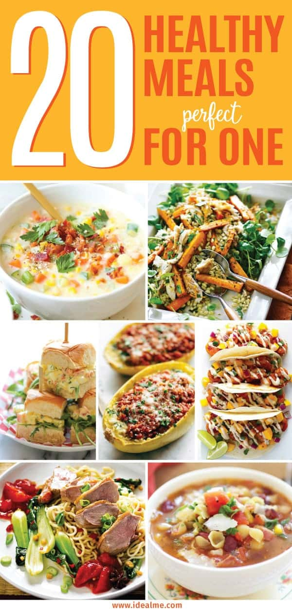 20 healthy meals that are perfect for one ideal me check out these 20 healthy meals that are perfect for one person soon you forumfinder Images