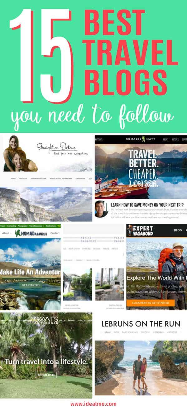 15 Best Travel Blogs to follow
