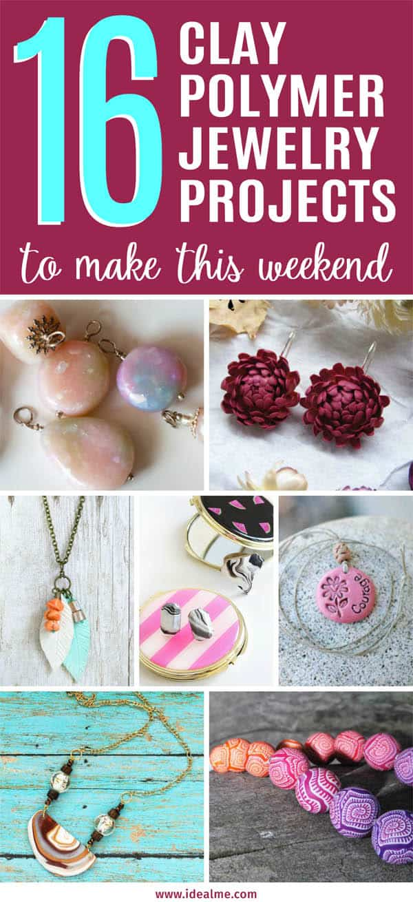 16 Clay Polymer Jewelry Projects