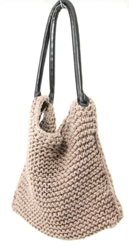 Knitted Bag Patterns For Beginners : 20 Easy Knitting Projects Every Beginner Can Do - Ideal Me