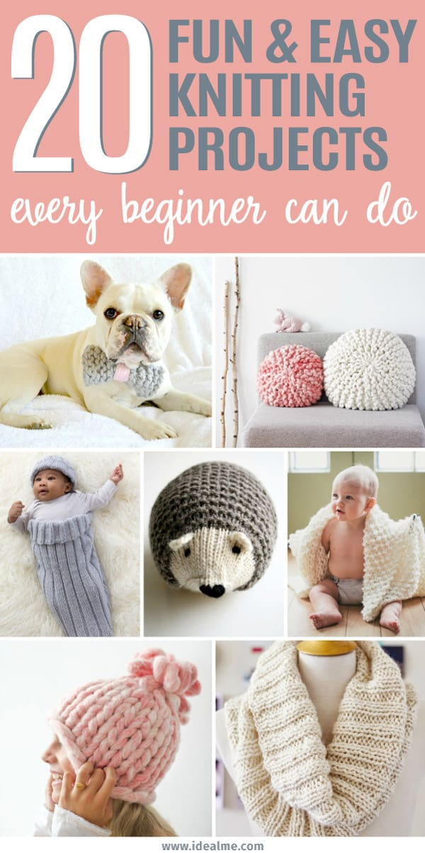 Easy Knitting Projects For Gifts : Easy knitting projects every beginner can do ideal me