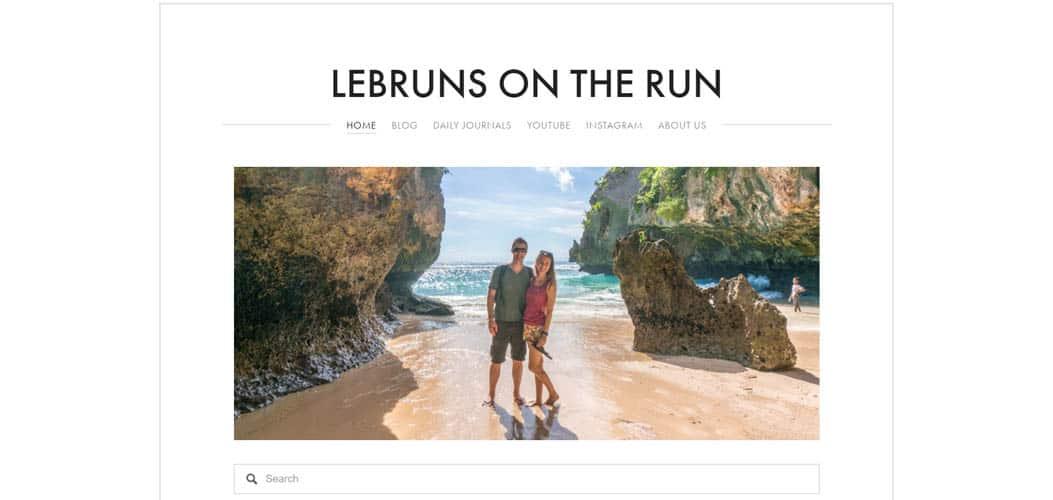 Lebruns on the Run travel blog