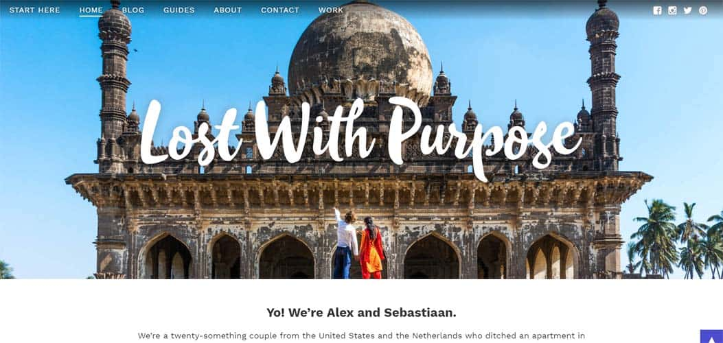 Lost with Purpose travel blog