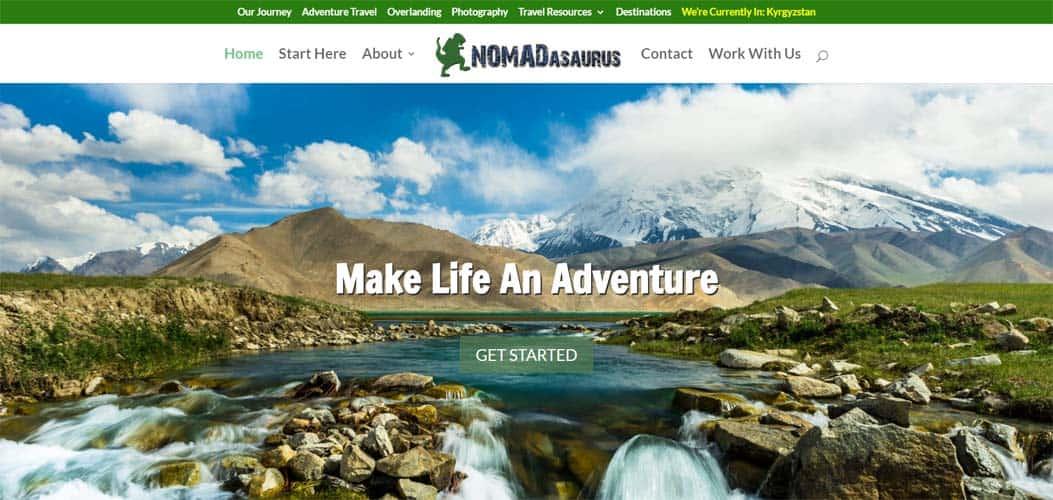 NOMADasaurus travel blog