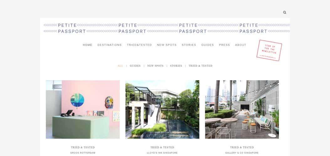 Petite Passport travel blog