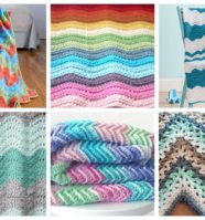 17 Easy Ripple Crochet Blankets to Make to Brighten Any Room