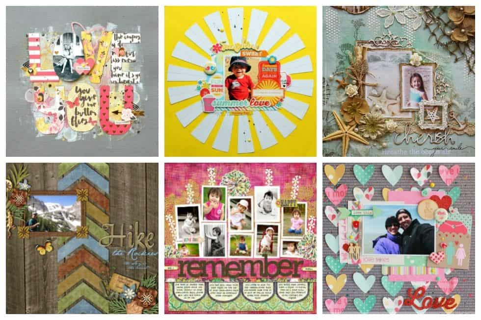 Whether you are an avid scrapbooker or dreaming of creating your one ultimate journal… these scrapbook layout ideas will help your creative juices flowing.