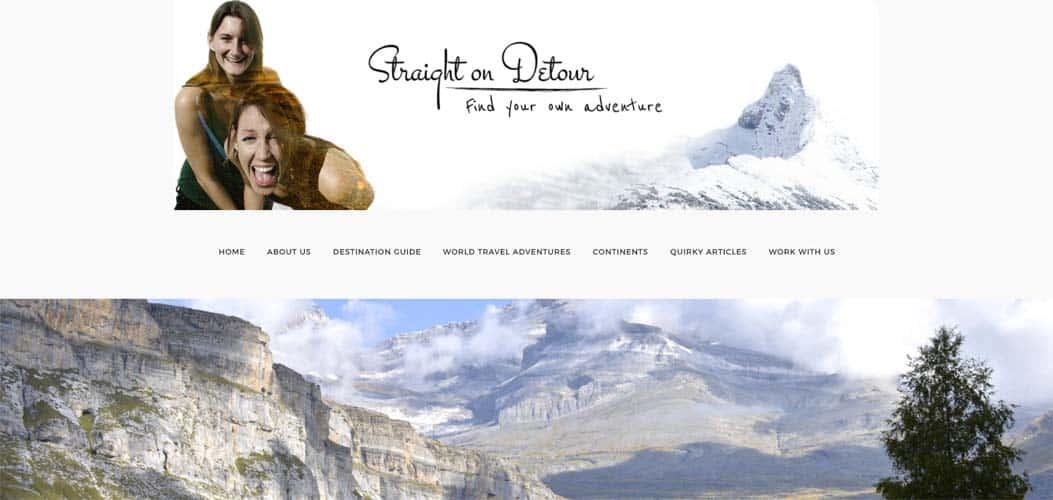 Straight on Detour travel blog