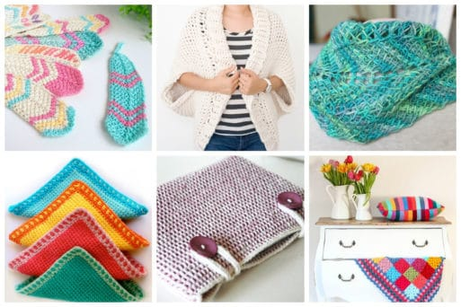 We've tracked down these 15 fun tunisian crochet projects for you to make. The result is a beautiful woven looking pattern that's thick and luxurious.