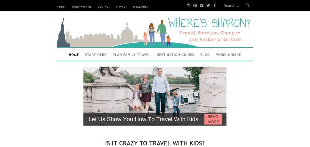 Where's Sharon travel blog