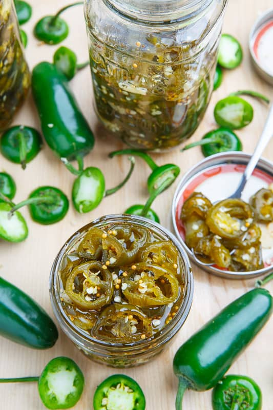 candied jalapenos - recipe canning vegetables