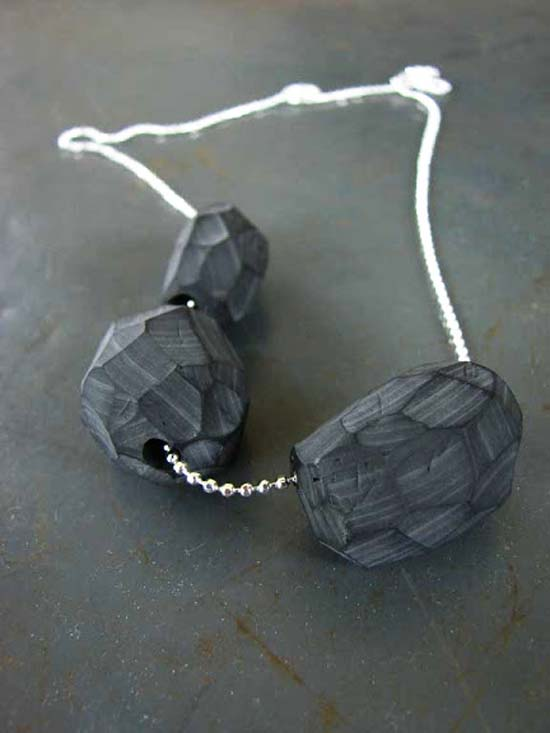 clay polymer carved beads Jewelry
