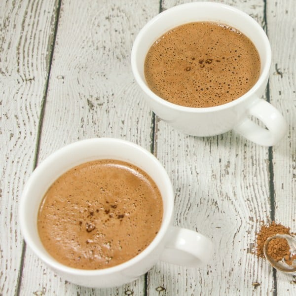 dairy free mocha latte - whole 30 snacks