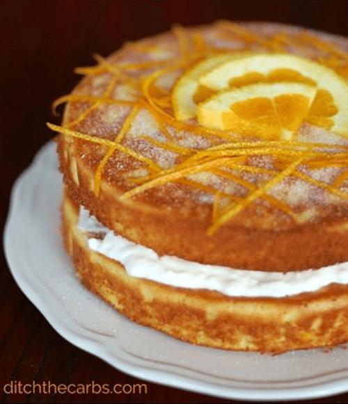 Almond and Orange Flourless Gluten Free Cake