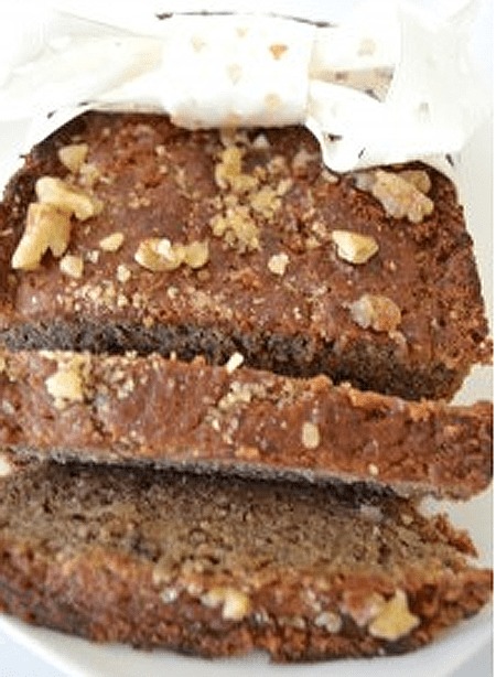 easy paleo dessert Banana Nut Bread