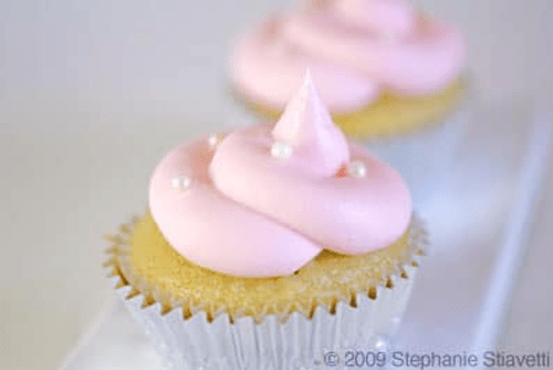 Gluten Free Champagne Cupcakes