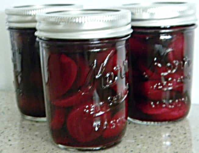 perfect pickled beets - recipe canning vegetables