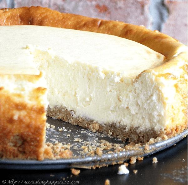 The Best Sour Cream Cheesecake Gluten Free Cake