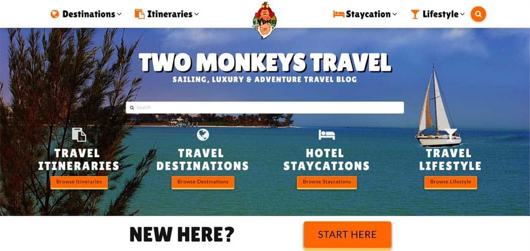 travel blog Two Monkey Travel
