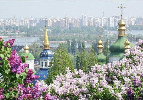 Kyiv, Ukraine - cheap place to fly